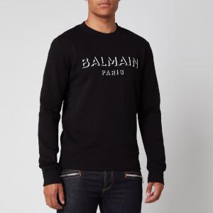 Balmain Men's 3D Effect Sweatshirt - Black