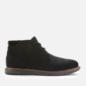 TOMS Men's Navi Water Resistant Desert Boots - Black