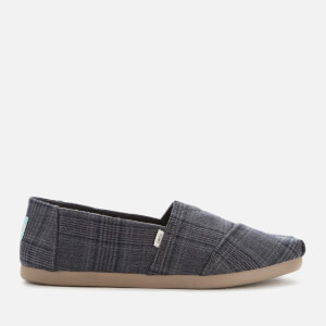TOMS Men's Alpargata Slip-On Pumps - Dark Grey