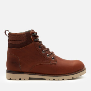TOMS Men's Ashland 2.0 Waterproof Leather Lace-Up Boots - Brown
