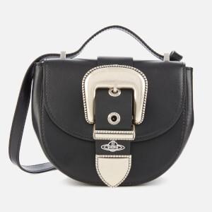 Vivienne Westwood Women's Rodeo Small Saddle Bag - Black