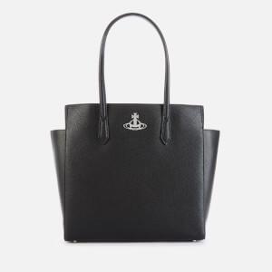 Vivienne Westwood Women's Johanna Large Shopper Bag - Black