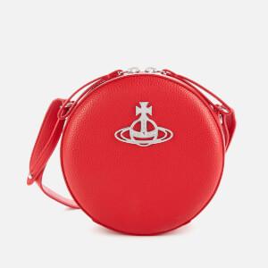 Vivienne Westwood Women's Johanna Round Cross Body Bag - Red