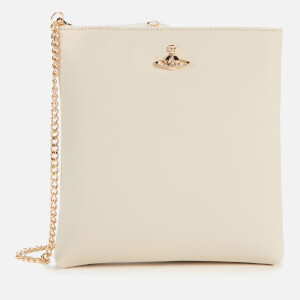 Vivienne Westwood Women's Victoria Square Cross Body with Chain - Ivory