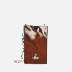 Vivienne Westwood Women's Dolce Phone Chain Bag - Brown