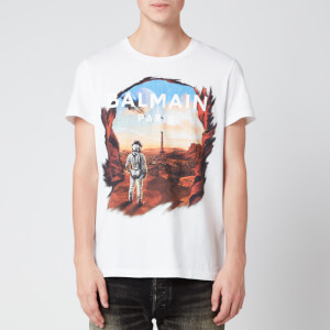 Balmain Men's Astronaut T-Shirt - Multi