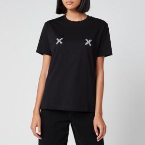 KENZO Women's Loose Fit T-Shirt KENZO Sport - Black