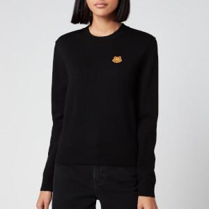KENZO Women's Underpinning Crewneck Sweatshirt - Black