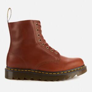 Dr. Martens Men's 1460 Pascal Ziggy Leather 8-Eye Boots - Tan