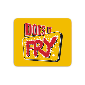 Does It Fry Logo Mouse Mat