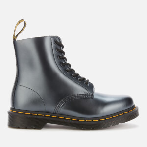 Dr. Martens Women's 1460 Pascal Chroma 8-Eye Boots - Silver