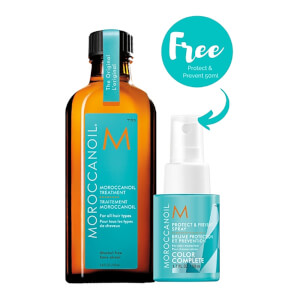 Moroccanoil Treatment with Free Protect & Prevent Spray (Worth £41.70)