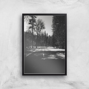 Yosemite Shadows Giclee Art Print