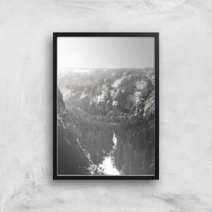 Yosemite Skyline Giclee Art Print