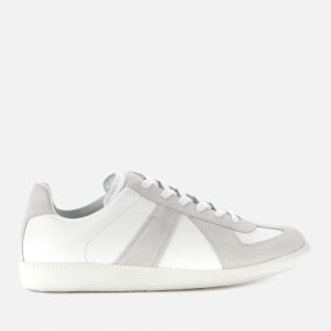 Maison Margiela Men's Replica Leather Low Top Trainers - White