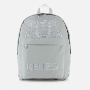 KENZO Men's Kampus Canvas Backpack - Grey/Green