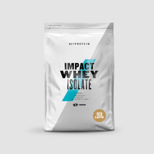 Impact Whey Isolate, Ice Latte