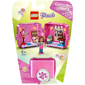 LEGO Friends: Olivia's Shopping Play Cube (41407)
