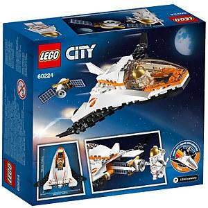 LEGO City Space Port: Satellite Service Mission (60224)