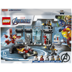 LEGO Marvel Avengers Iron Man Armory Set (76167)