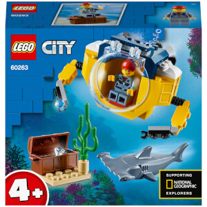 LEGO City Oceans: Ocean Mini-Submarine (60263)