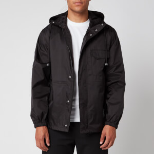 KENZO Men's Short Scooter Parka - Black