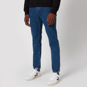 KENZO Men's Stone Washed Slim Jeans - Navy Blue
