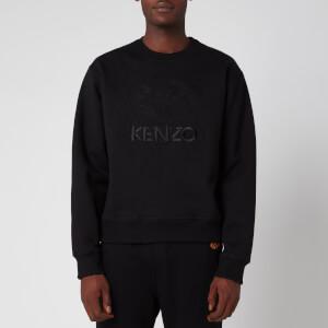 KENZO Men's Embossed Tiger Sweatshirt - Black
