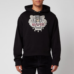 KENZO Men's Varsity Tiger Hoodie - Black