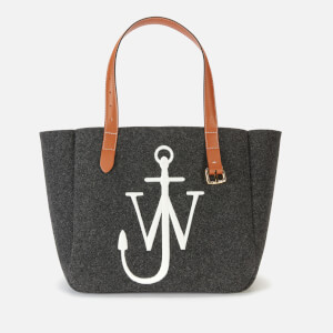 JW Anderson Women's Anchor Tote Bag - Dark Grey Melange