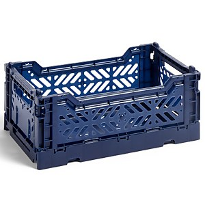 HAY Colour Crate - Navy - S
