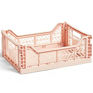 HAY Colour Crate - Soft Pink - M