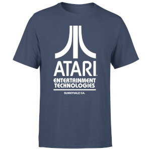 Atari Navy Tee Men's T-Shirt - Navy