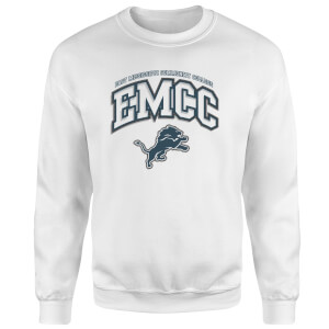 EMCC White Sweater Sweatshirt - White