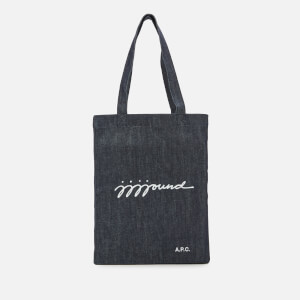 A.P.C. Men's JJJJound Tote Bag - Indigo