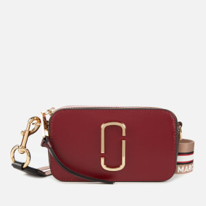 Marc Jacobs Women's Snapshot Cross Body Bag - New Cranberry Multi