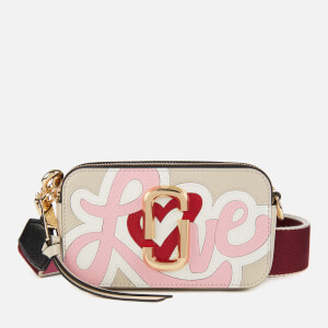 Marc Jacobs Women's Snapshot Cross Body Bag - Oatmilk Multi