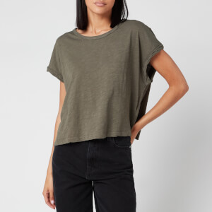 Free People Women's You Rock T-Shirt - Washed Army