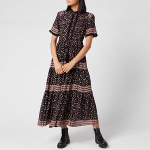 Free People Women's Rare Feeling Maxi Dress - Black Combo