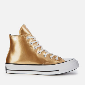 Converse Women's Chuck '70 Hi-Top Trainers - Gold/Black/Egret