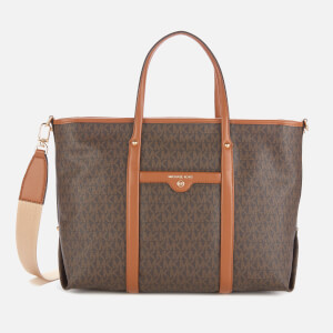 MICHAEL MICHAEL KORS Women's Beck Medium Tote Bag - Brown/Acorn