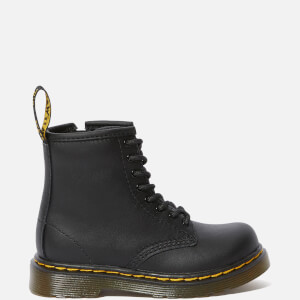 Dr. Martens Toddlers' 1460 Leather Lace-Up Boots - Black
