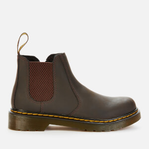 Dr. Martens Kids' 2976 Wildhorse Leather Lace-Up Boots - Gaucho