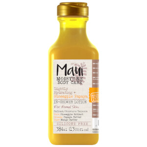 Maui Moisture Lightly Hydrating+ Pineapple Papaya in-Shower Body Lotion 384ml