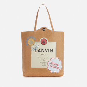 Lanvin Men's Tote Bag - Beige/Yellow