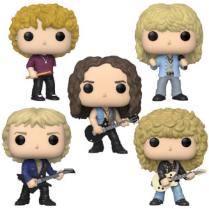 Def Leppard Funko Pop! Vinyl Bundle