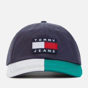 Tommy Jeans Men's TJM Heritage Cap - Navy/White/Green
