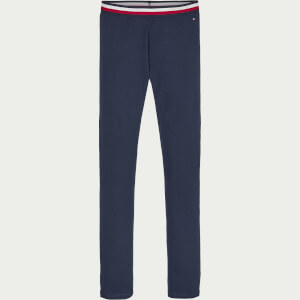 Tommy Hilfiger Girls' Essential Tommy Leggings - Twilight Navy
