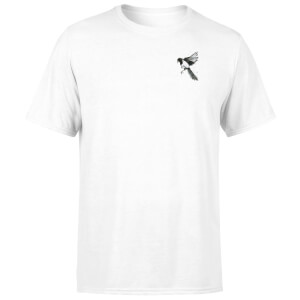 Snowtap Magpie Men's T-Shirt - White