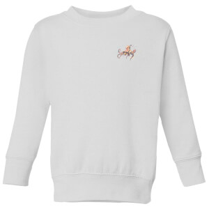 Snowtap Octopus Kids' Sweatshirt - White